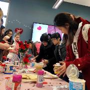 Crafts with Cupid Valentine's Event