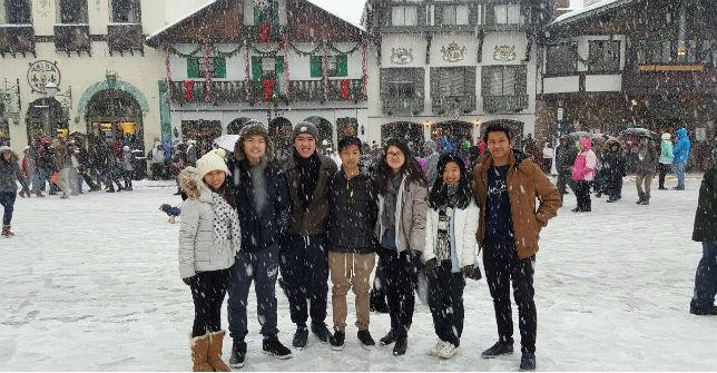 About Two Hours From Shoreline, Students Discover a Winter Wonderland.