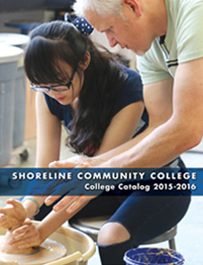 Cover of the 2015-2016 college catalog
