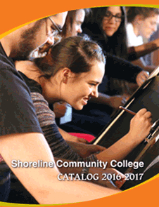 Cover of the 2016-2017 college catalog