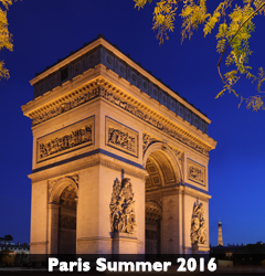 Paris Summer 2016