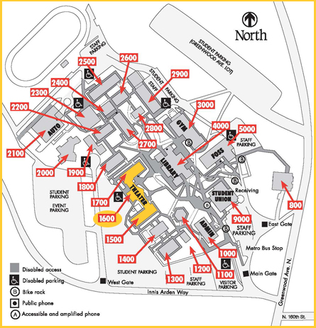Theater Campus Map