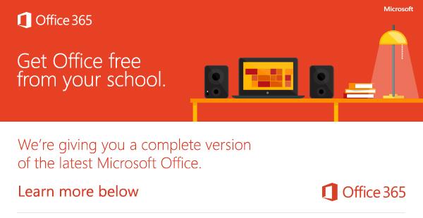 Office 365 Student Free >> Microsoft Office 365 Shoreline Community College